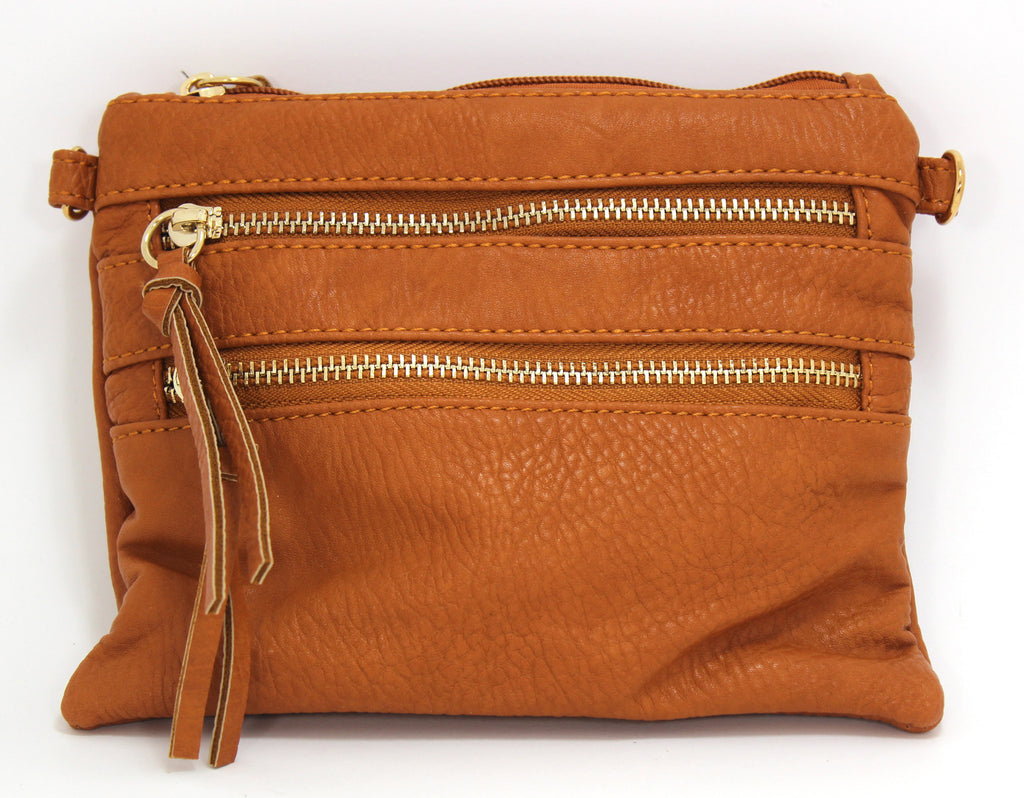 Light Brown Crossbody Bag