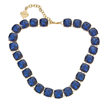 The Blake Necklace in Blue