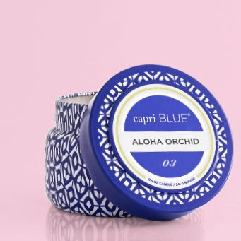 Travel Tin in the Aloha Orchid Fragrance