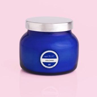 Blue Petite Signature Jar - Volcano Fragrance