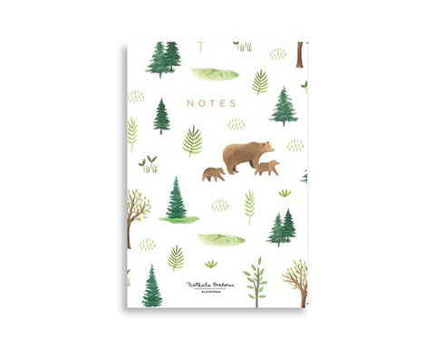 Cuaderno A5 Forest Bears