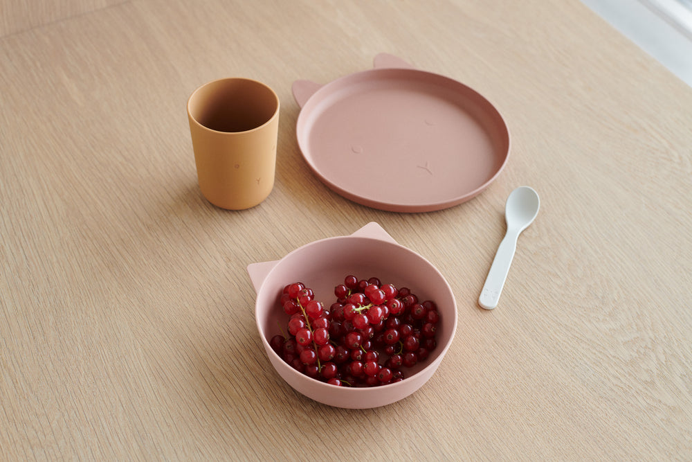Liewood Dinerset Paul Cat Rose Blush