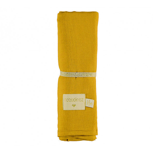 Nobodinoz Swaddle XL Butterfly Farniente Yellow