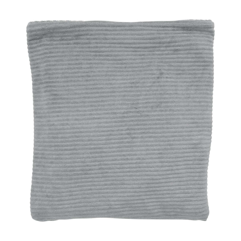 Witlof For Kids Ledikantdeken Corduroy Grey