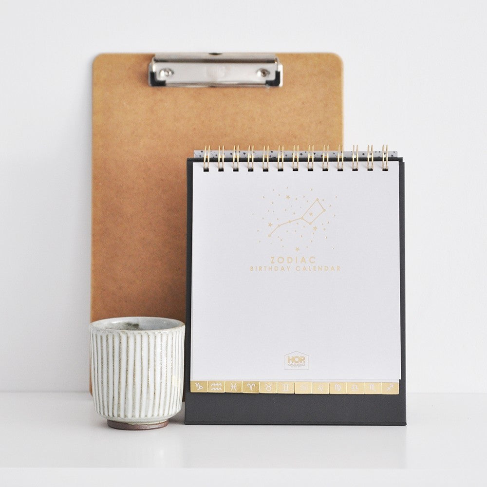 House of Products Kalender Zodiac Gold
