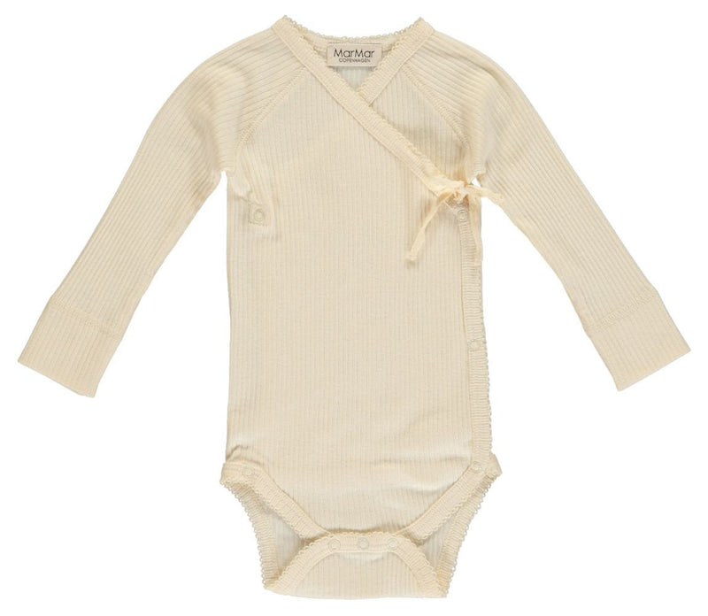 MarMar Romper Mini Modal Off White