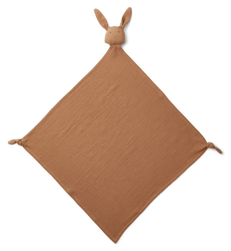 Liewood Knuffeldoek XL Robbie Rabbit Terracotta