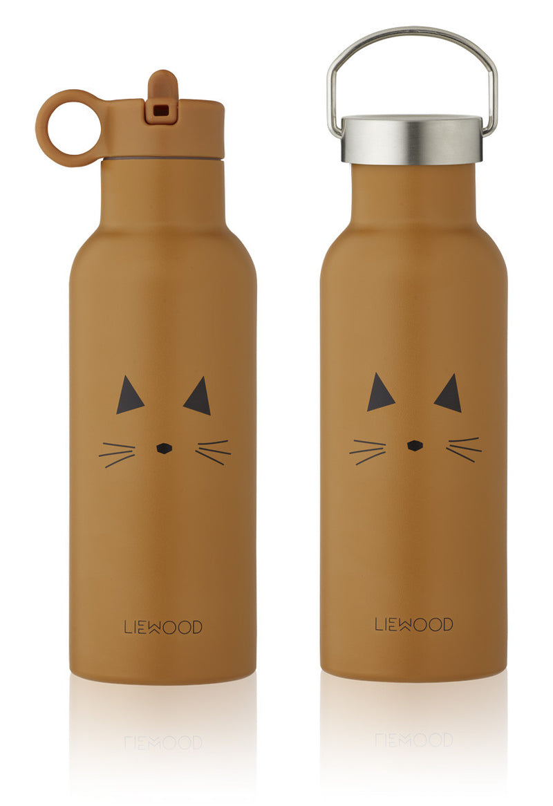 Liewood Thermosfles Neo Cat Mustard