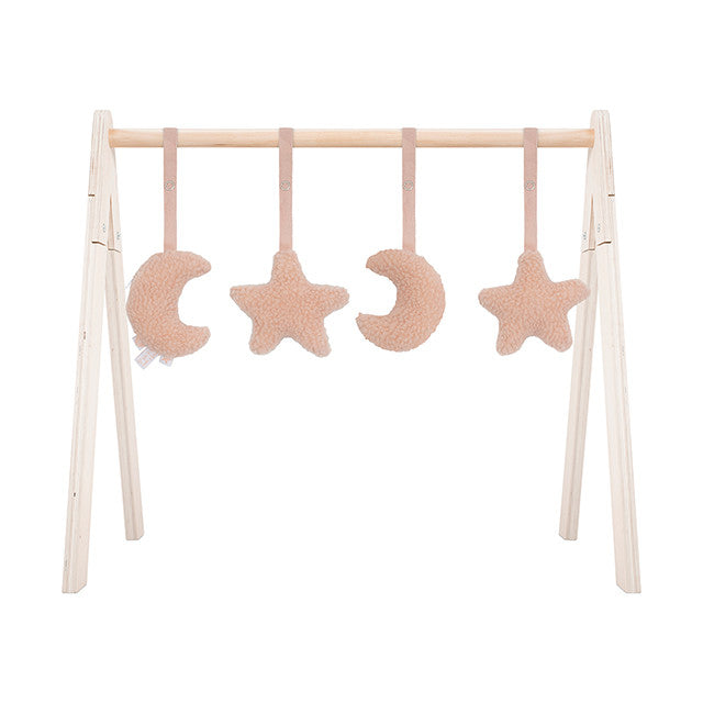 Jollein Babygym Toys Moon Pale Pink