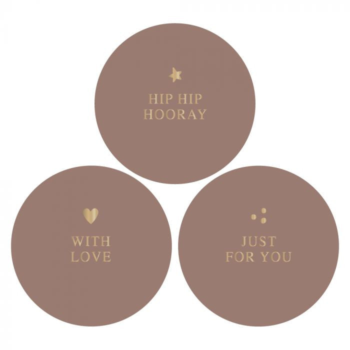 House of Products Stickers Multi Gold Terra
