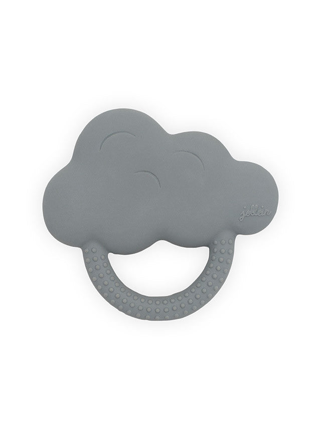 Jollein Bijtring Rubber Cloud Storm Grey