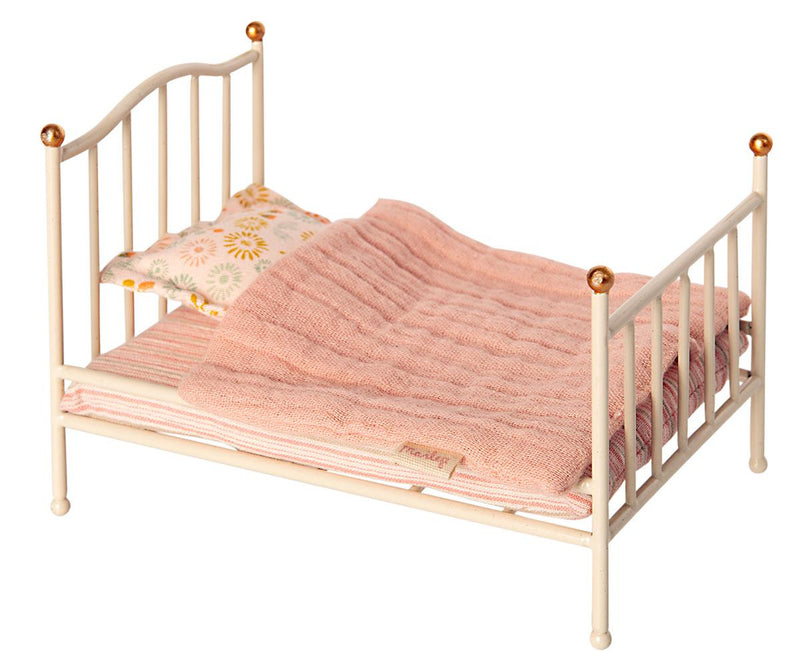 Maileg Vintage Bed Metal Off-white