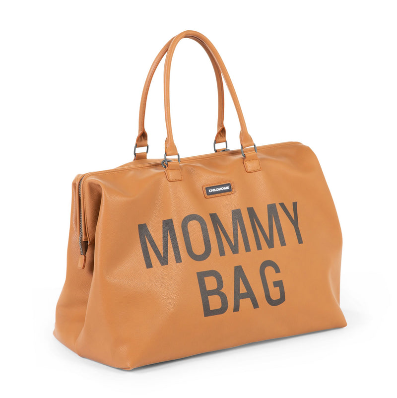 Childhome Mommy Bag Leatherlook Bruin