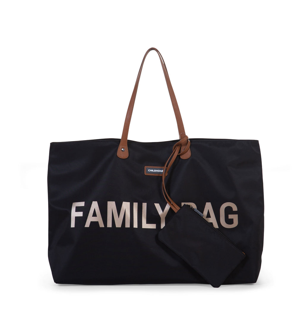 Childhome Family Bag Zwart Goud