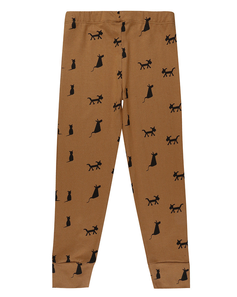 Turtledove Legging Cats & Dogs Honey