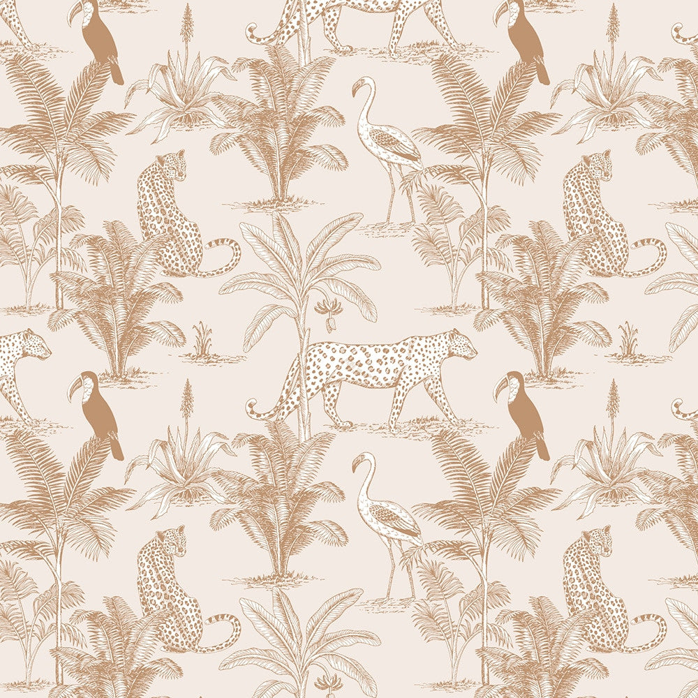 May & Fay Behang Jungle Beige