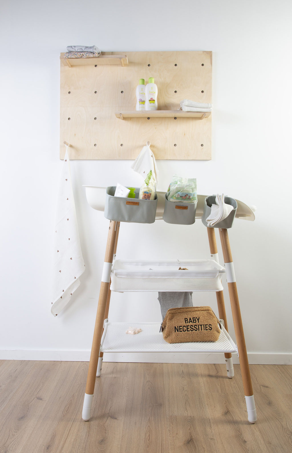 Childhome Hangmandjes Commode Grijs