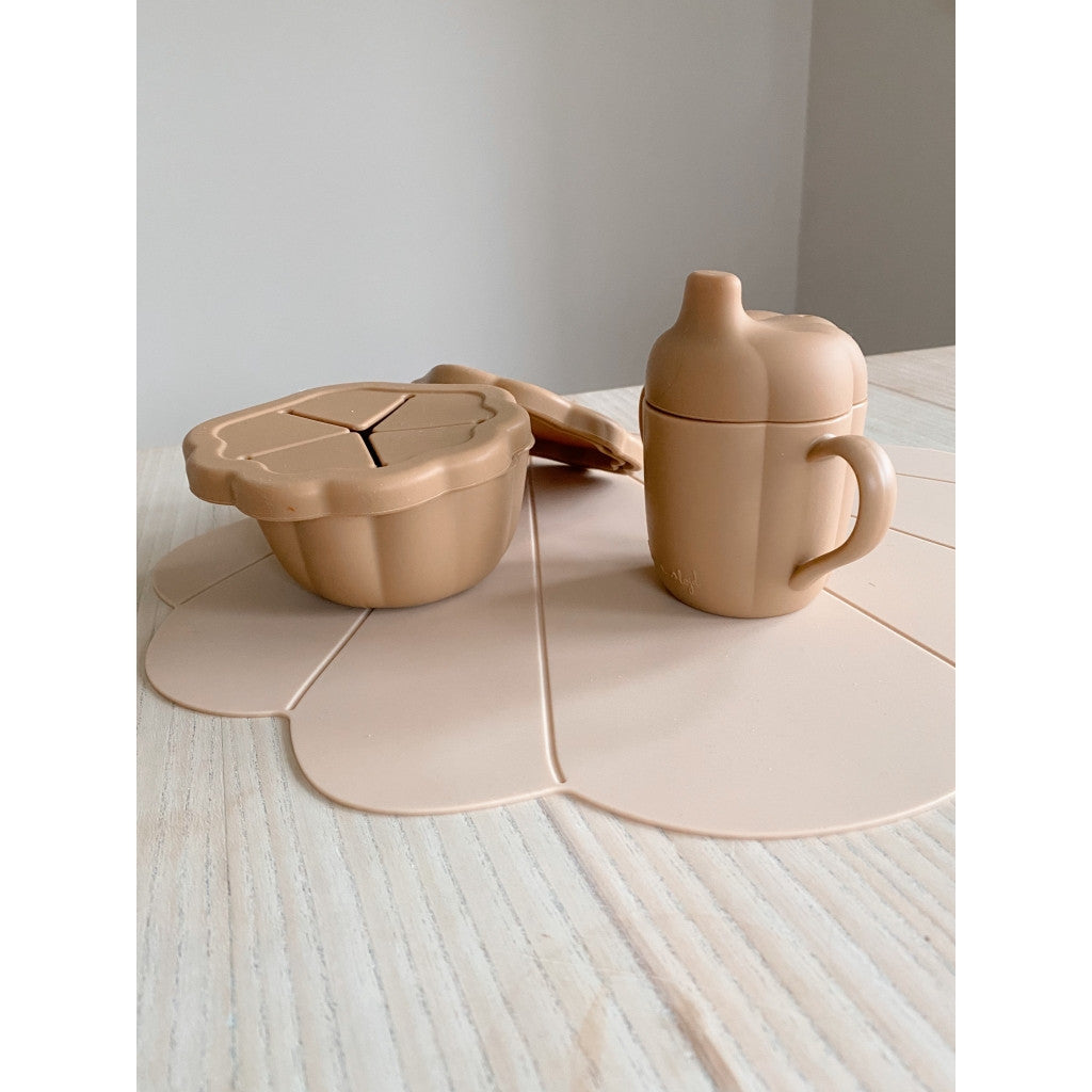 Konges Sløjd Dinerset Silicone Clam Terracotta