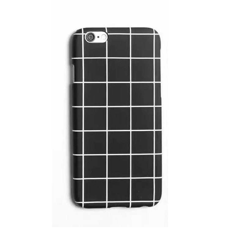 iPhone Grid Black