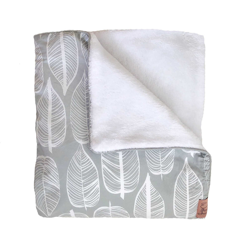Witlof For Kids Ledikantdeken Beleaf Grey