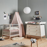Leander Commode Luna Eik White