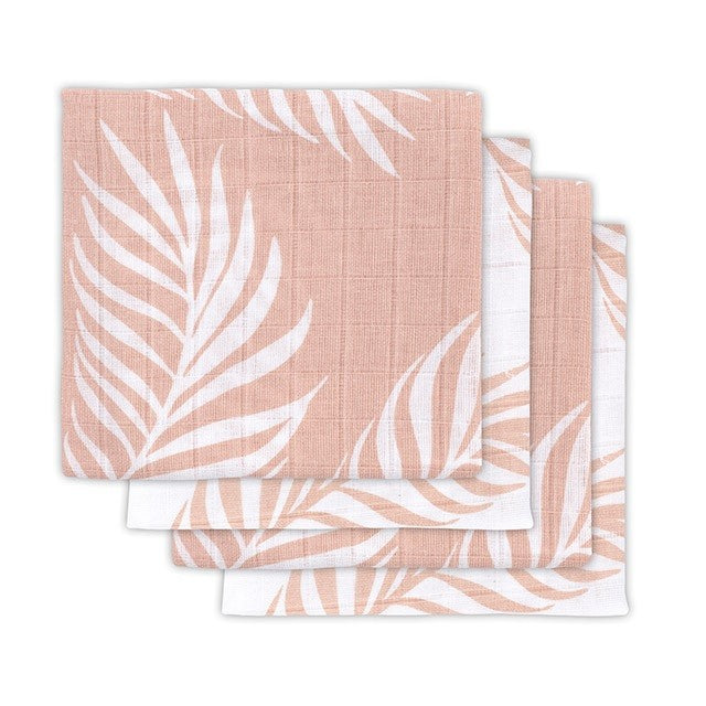 Jollein Hydrofiele Luiers Nature Pale Pink 4-pack