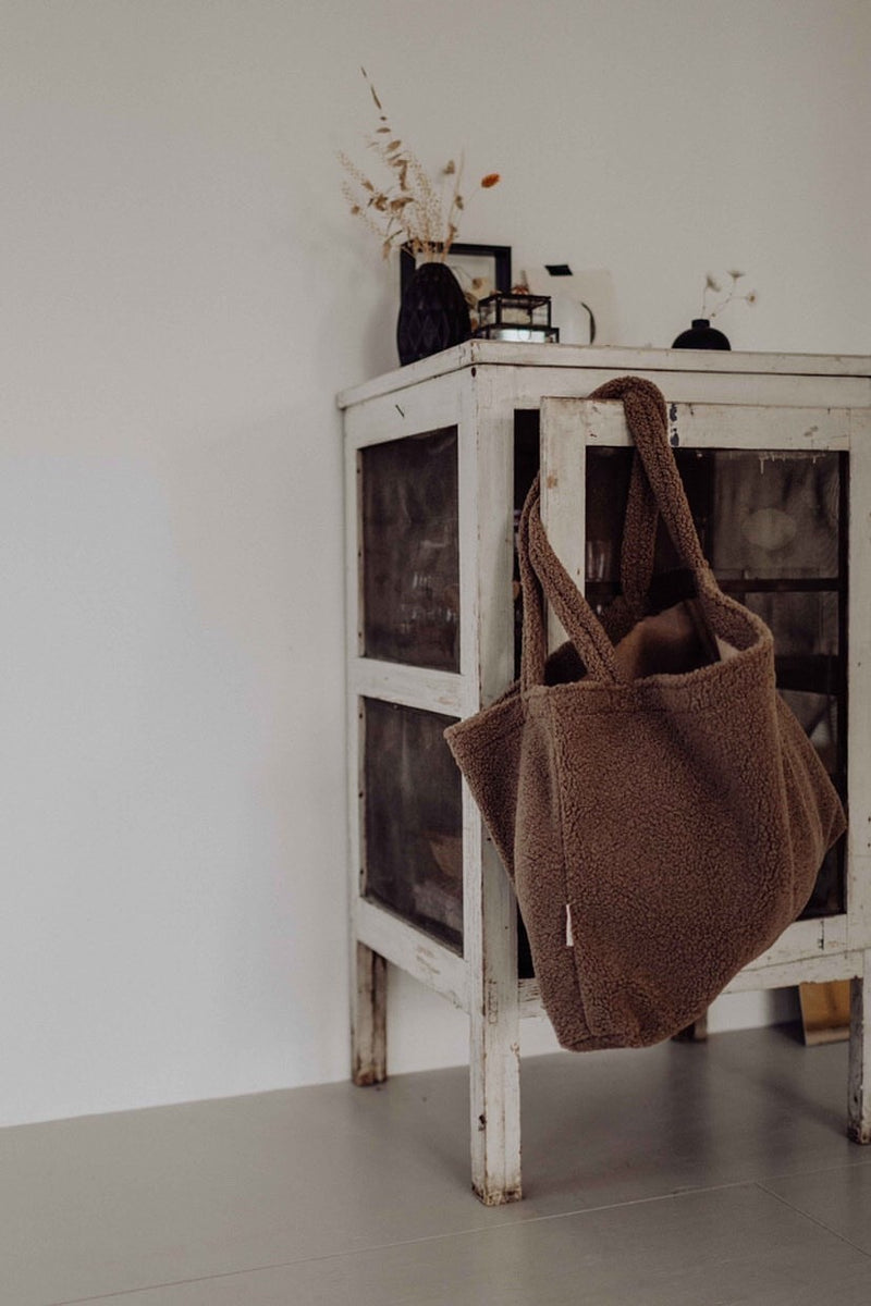 Studio Noos Mom Bag Chunky Teddy Brown