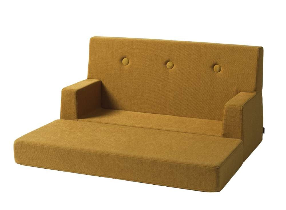 By KlipKlap KK Kids Sofa Mustard