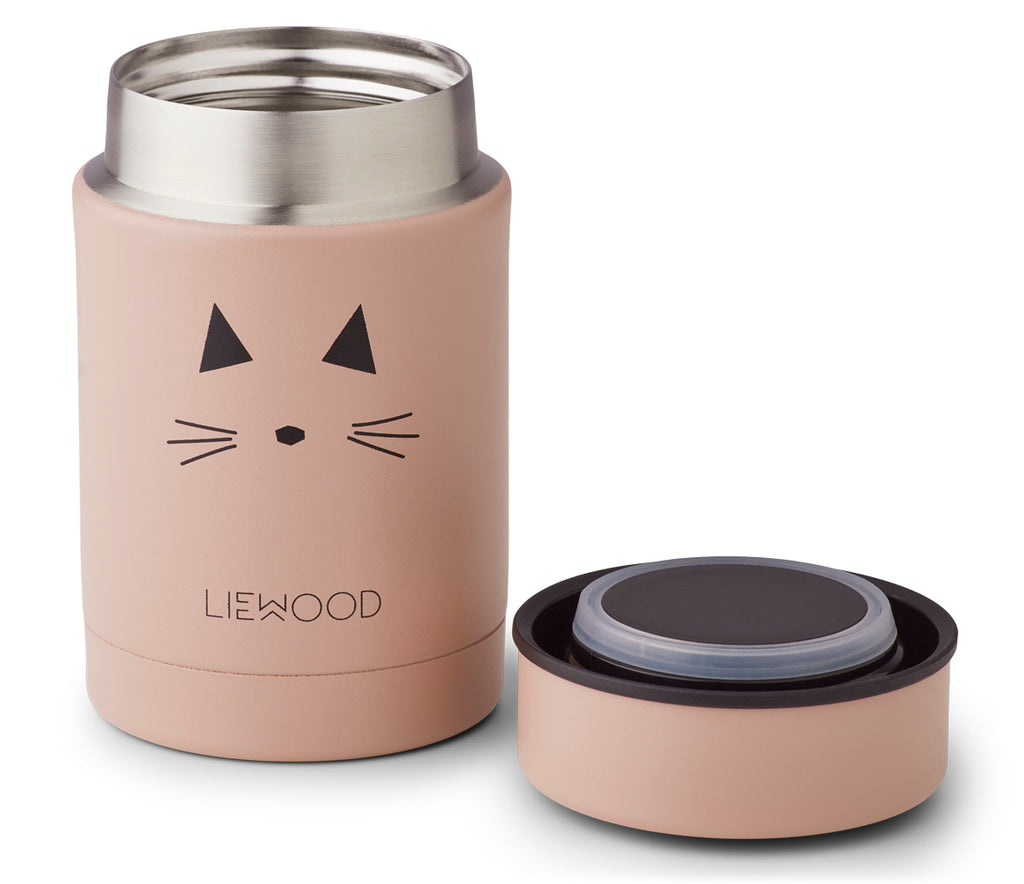 Liewood Thermos Food Jar Nadja Cat Rose