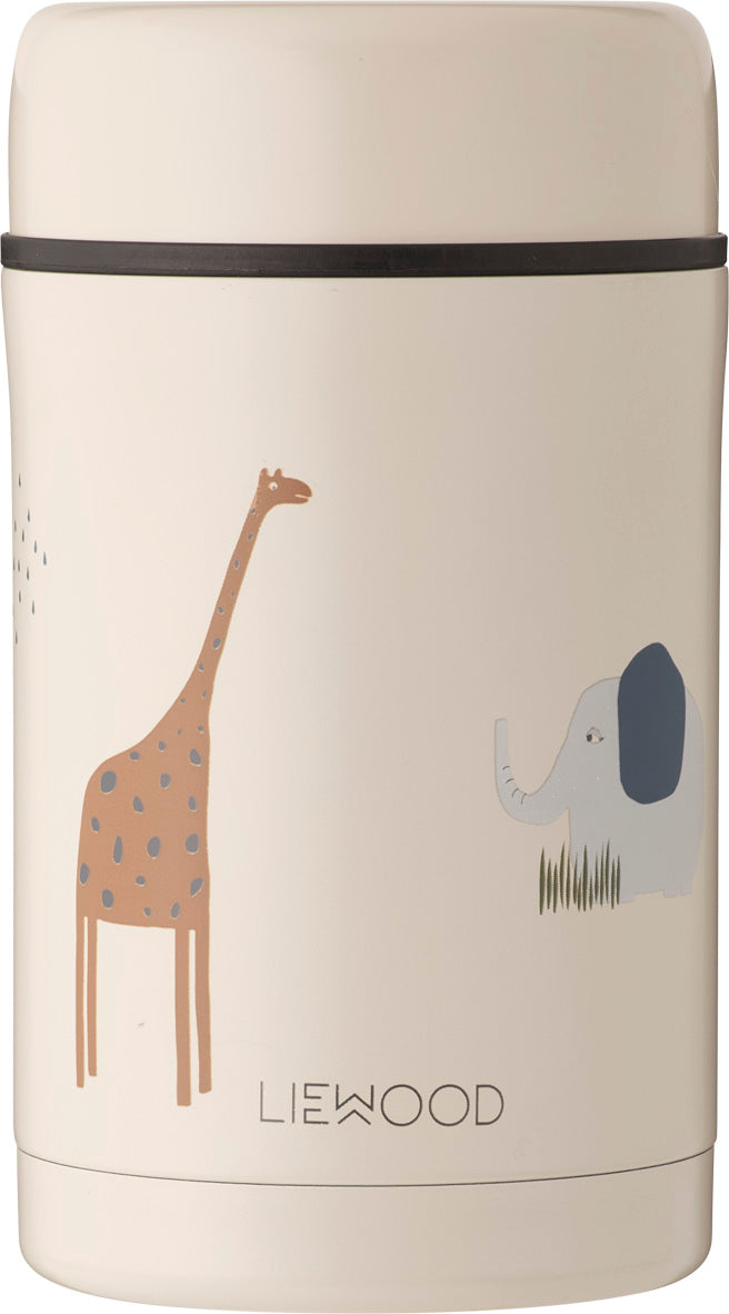 Liewood Thermos Food Jar Bernard Safari Sandy