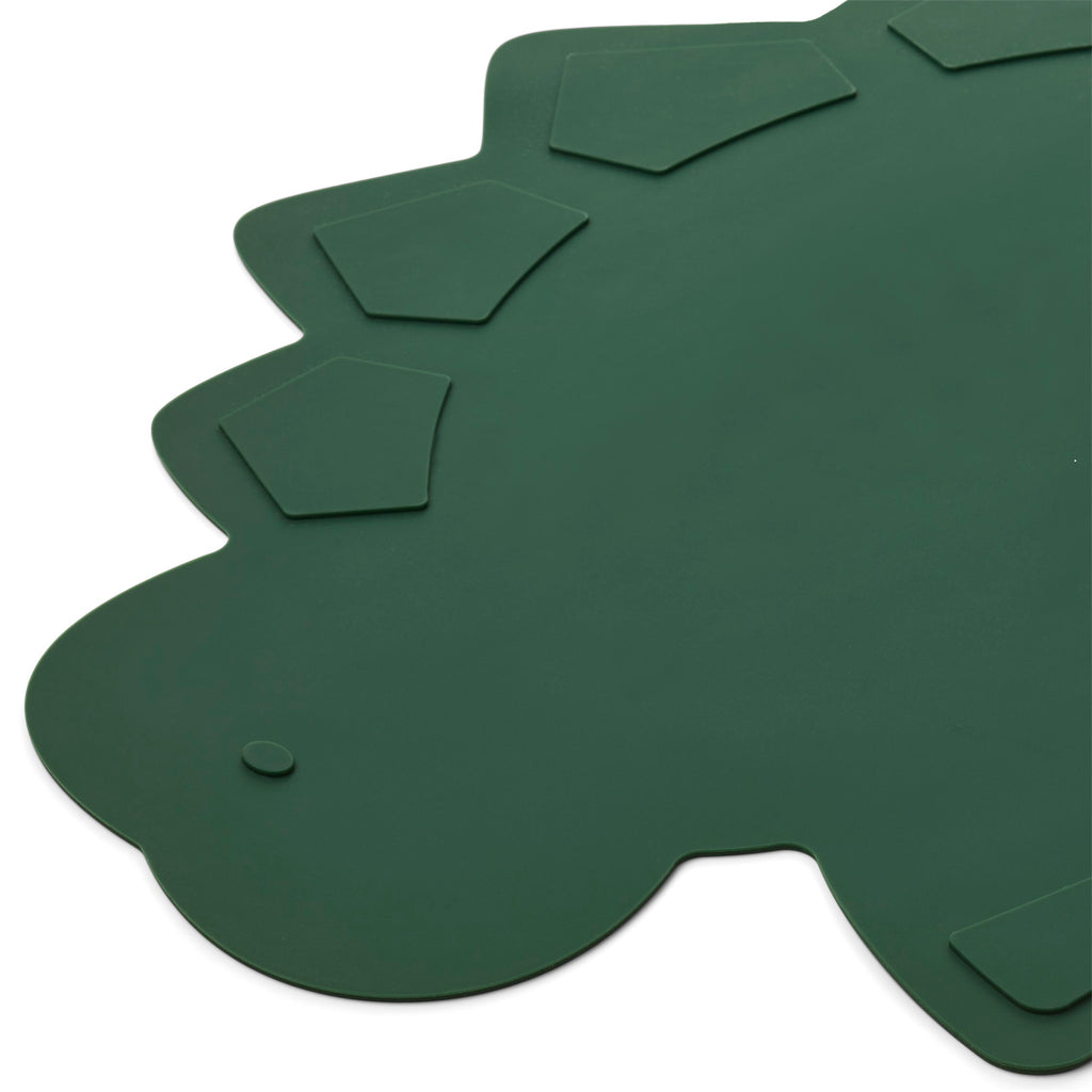 Liewood Placemat Tracy Dino Garden Green