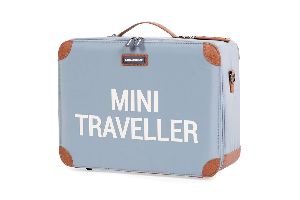 Childhome Kinderkoffer Mini Traveller Grijs Ecru