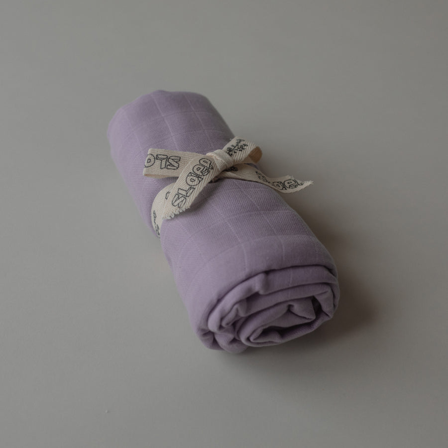 Play at Slaep Swaddle XL Violet