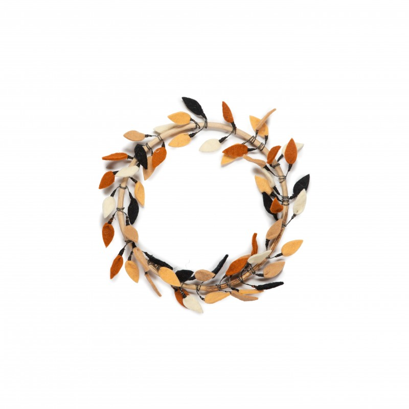 KidsDepot Flower Hoop Krans Leaves