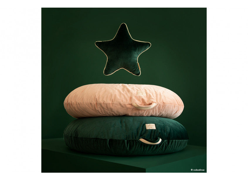 Nobodinoz Beanbag Sahara Velvet Jungle Green