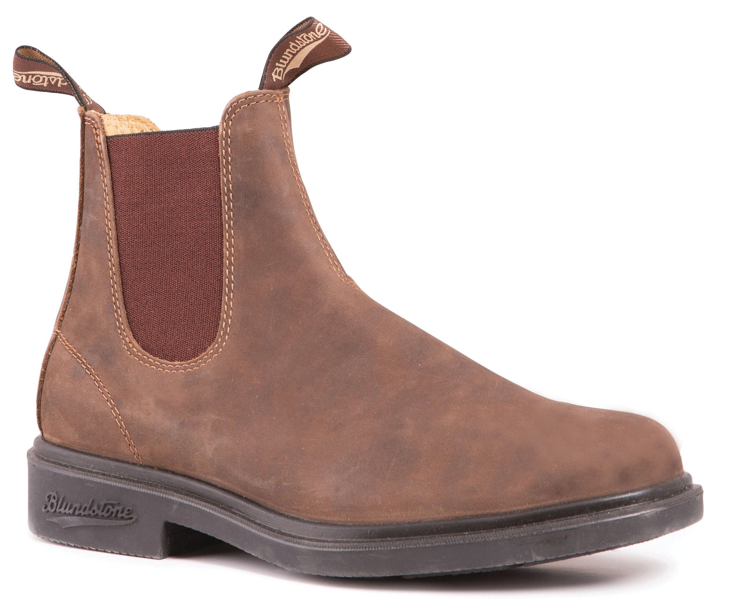 Blundstone Chisel Toe Rustic Boot.Canada loves Blundstone Dress Chelsea boots for all-day comfort and all-round value