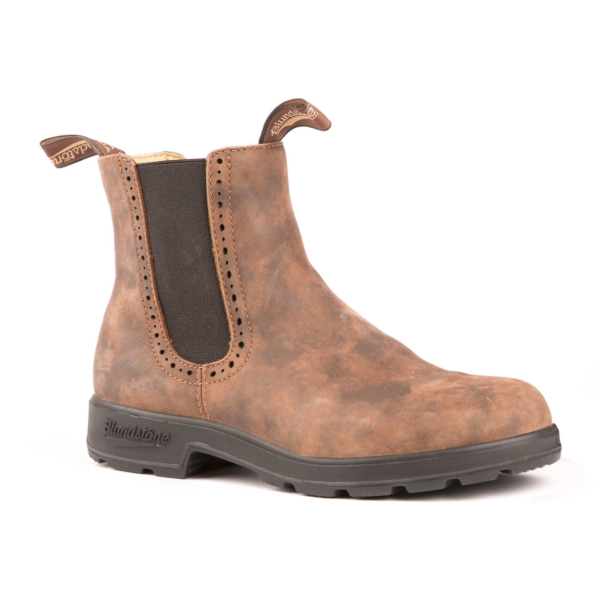 Blundstone Women's Boots Series Hi Top Chelsea treads comfortably in town or country.