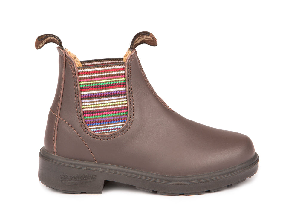 Blundstone Kid's Original Striped Elastic Boot. Kids love Blundstone Chelsea Boots .