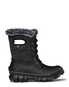 BOGS Women's Arcata Knit Boot. Leave your igloo in style with these 100% waterproof, fur- lined Bogs Boots.