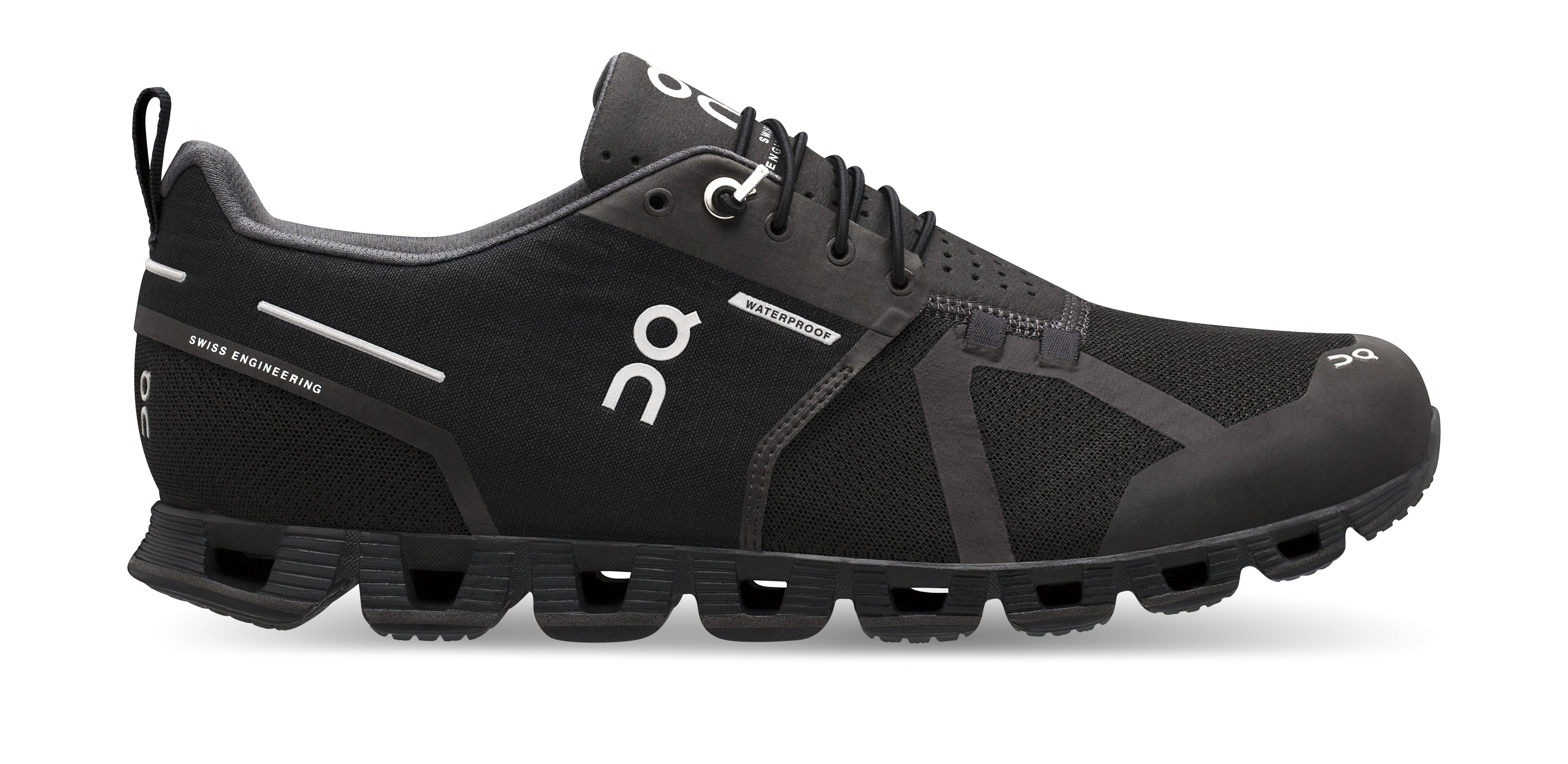ON Men's Cloud Waterproof Black/Lunar