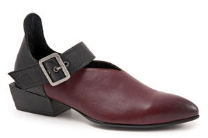 BUENO Sherry Women's Leather Shoes Red. Perfect stylish leather shoe for straight from meetings through to cocktails without a moment's hesitation.