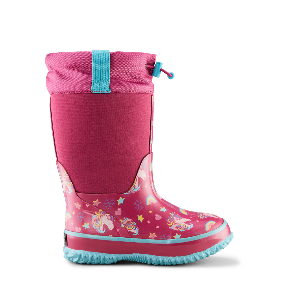 Cougar Kids' Neoprene Snow Boot Pink