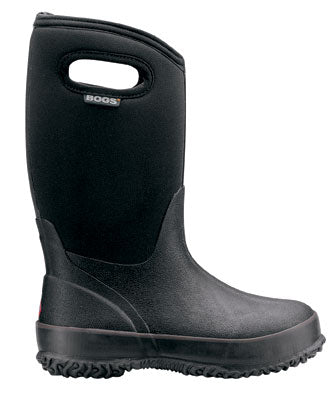 BOGS Kid's Classic Hi Handle Boot. You'll never hear your kids complain about wet or cold feet with these Kids' Classic Bogs Boots.