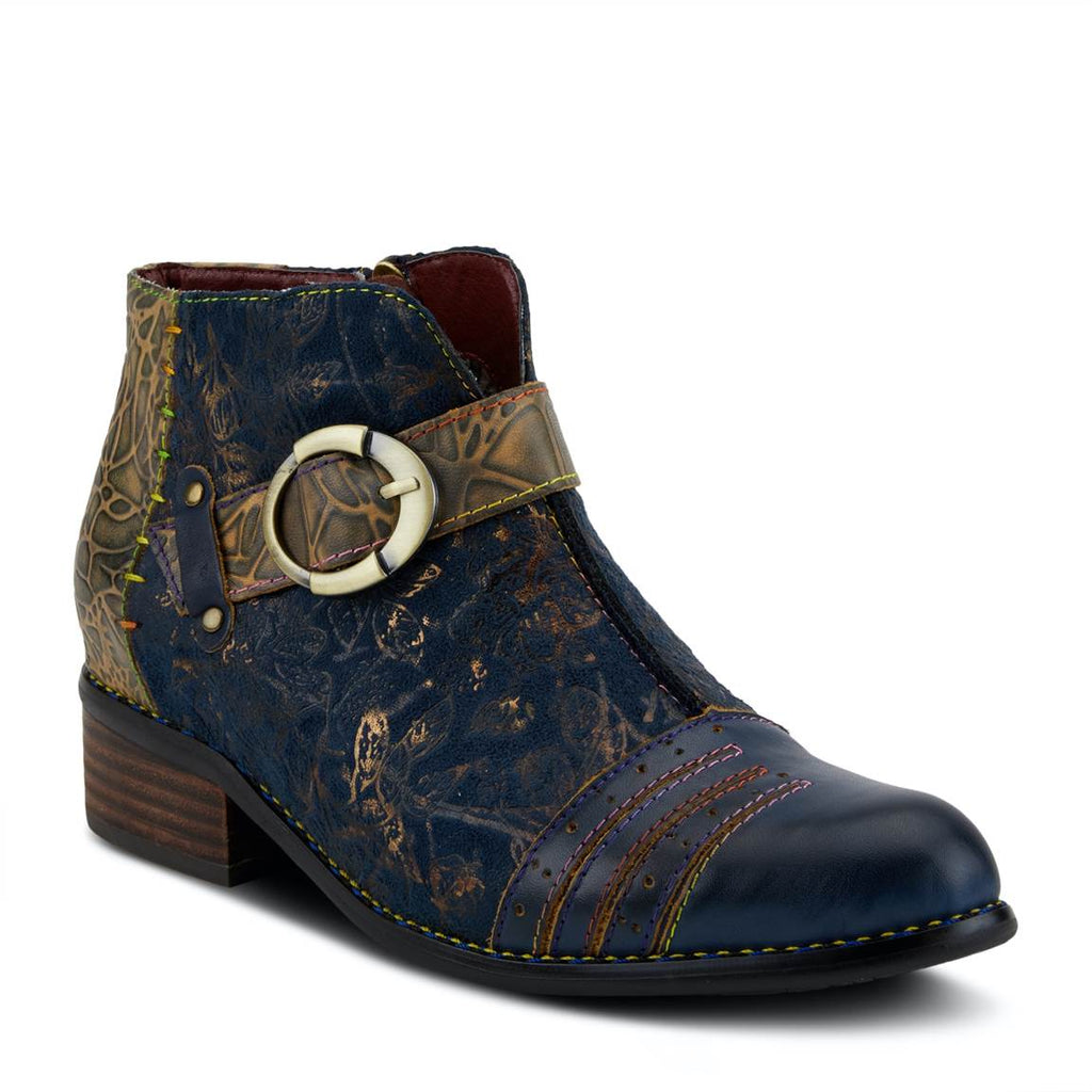 L'Artiste Georgiana Women's Bootie Blue