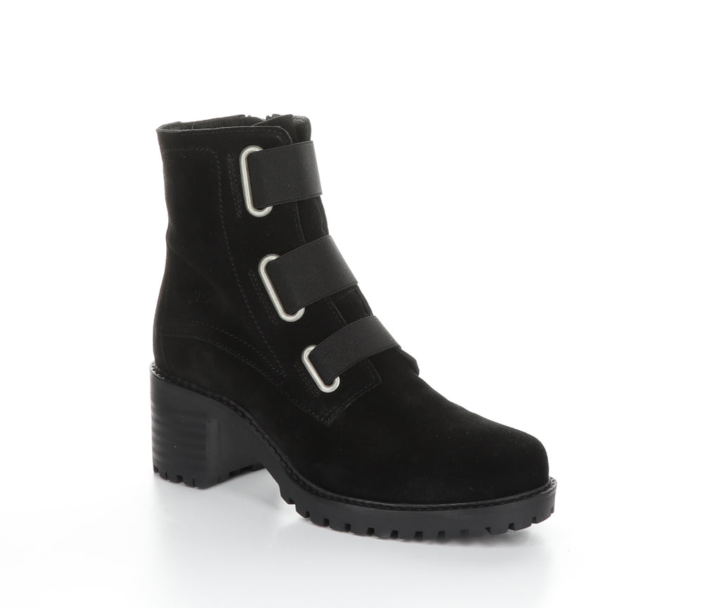 Bos and Co INDIE Waterproof Ankle Boot. Classic streamline boot with a fashionable flare and a chunk heel.