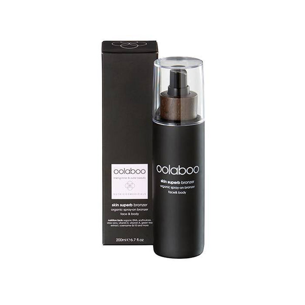 oolaboo skin superb organic spray-on bronzer 200 ml