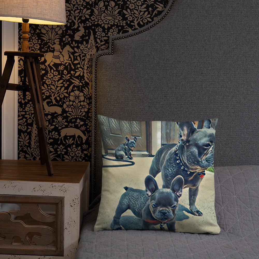 Frenchie's Pillow by CutePuppiesLand™ - CutePuppiesLand