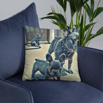 Load image into Gallery viewer, Frenchie's Pillow by CutePuppiesLand™ - CutePuppiesLand