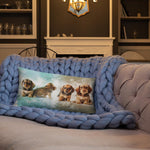 Load image into Gallery viewer, Bassotto's Pillow by CutePuppiesLand™ - CutePuppiesLand
