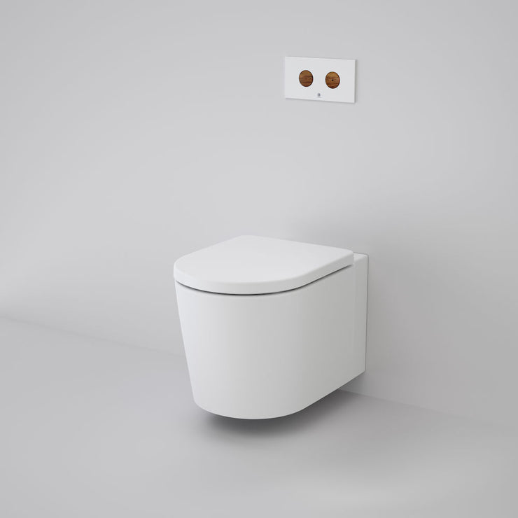 Caroma Elvire Cleanflush Wall Hung Pan + Invisi Series II® 4.5/3L Cistern
